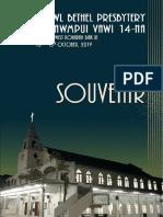 Aizawl Bethel Presbytery Inkhawmpui Vawi 14-Na 2019 Souvenir