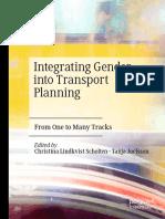 2019 Book IntegratingGenderIntoTransport