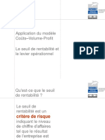 05 Application Du Modele Couts Volume Profit