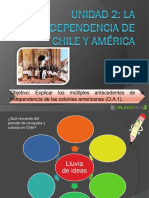 Ppt Independencia de Chile y America