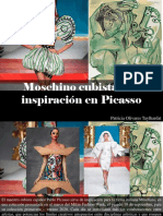 Patricia Olivares Taylhardat - Moschino Cubista Con Inspiración en Picasso