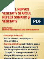 Sistemul Nervos Vegetativ Și Arcul Reflex Somatic Și