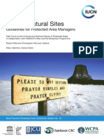 Sacred Natural Sites Guidelines for Protected Area Managers