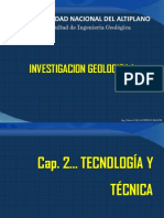 2. Tecnología y Técnica