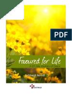 Favoured for Life a 21 Day Journey of Grace Ps Gebhardt Berndt