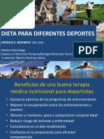 6. Dieta Para Dif. Deportes Dra. Patricia Restrepo