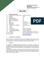 Silabo de Fitoquimiotaxonomia 2019 II