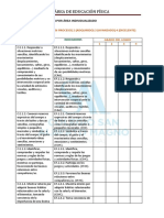 Evaluación Individual PRIMER CICLO Educación Física