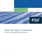 Gestión del Cambio y la Innovación, un reto en las organizaciones modernas