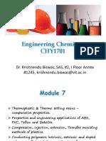 M7 CHY1701 Part1 Dr. Krishnendu Biswas