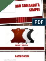 Sociedad Comandita Simple Empresa