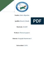 Tarea III de Geografia Dominicana