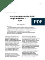 Las Reglas Cambiantes de La Competitividad Global en El Siglo _GLOBALIZACIÓN