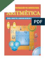 Aritmetica - Manual de Preparacion Pre-Universitaria