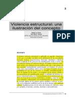 Violencia Estructural