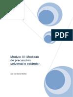 Modulo III Medidas de Precaución Universal o Estándar (1)