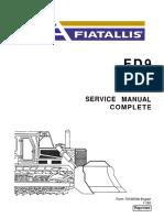 Manual de Serviço FD-9(Ingles)