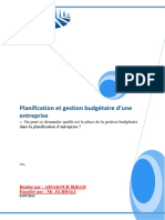 PF Planification