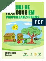 Manual de resíduos em propriedades rurais