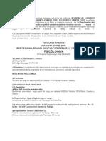 Una-Adth-cint-28-2019 (Psicologo) Profesional Asistencial en Vida Estudiantil (Sede Regional Brunca ) Campus Coto y o Campus Perez Zeledon