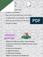 analisis producción