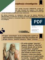 Psicología, Disciplina(s) e Investigación