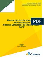 Manual técnico de integração de webservices