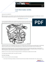 M50 Engine Technical Information (E36)