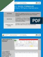 Practica 5 Excel Semipresencial Formulas