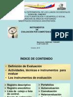 Instrumentos de Evaluacion Por Competencias