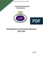 Reglamento Natacion Artistica FINA 2017-2021