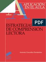 Estrategias de Comprensión Lectora - Antonio González Fernández