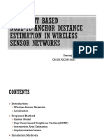 WSN - Distance estimation