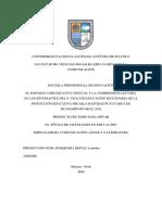 Proyecto de Investigación - Mosquera Depaz Leandro
