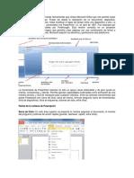 Partes de Microsoft Office Power Point 2013