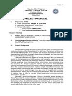 Project Proposal Aniver Vergara