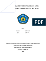 Laporan Praktikum Teknik Reaksi Kimia Telor