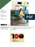 Workshop Bauhaus 2019 Montevideo