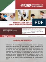Presentacion de Caso ANSIEDAD POR SEPARACION