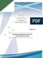 LINEAMIENTO FINAL Documento Referencia y Respuesta Honduras