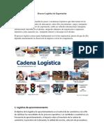 Proceso Logístico de Exportación