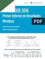 Mendoza Aprender Informe Final 28 de Marzo Grados Censales