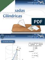 Coordenadas Cilíndricas 2019-II
