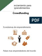 Financiamiento Para Emprendimientos. Crowdfunding