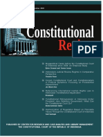 Constitutional Review Journal