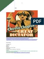 Memoria El Gran Dictador