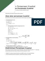 Rangkuman Persamaan Kuadrat.docx