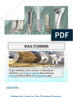 Lec. on Materials of Gas Turbine Components