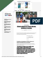 Atiende Gobierno de Puerto Morelos Problema de Bacheo