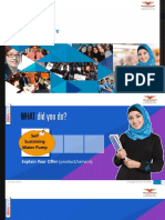One Dollar Venture PPT Template (1)